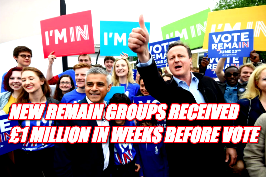 Remain Used Same Spending Tactics as Leave But Far Worse