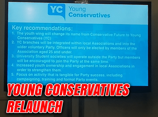 Young Conservatives Relaunch