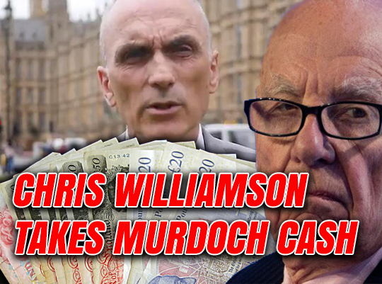 Williamson Takes Murdoch Shilling