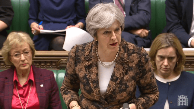 Watch: May Gets Tough on Russia