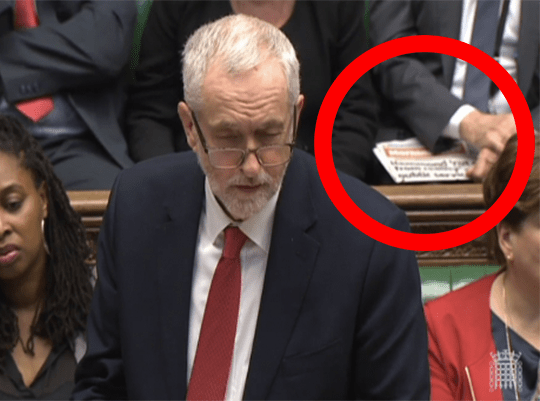 Chris Williamson Puts Morning Star in PMQs Shot