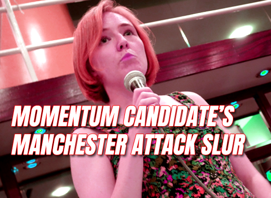 Long-Bailey Endorses Momentum Candidate Who Posted Terror Attack Slurs