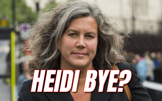 Heidi Bye? No Comment on Labour MP Quit Rumour