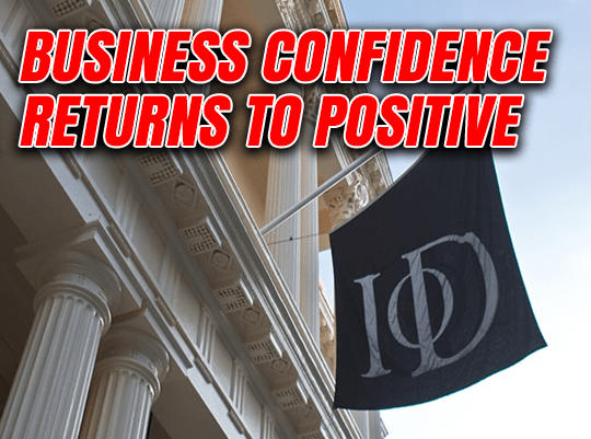 Business Confidence Returns to Positive
