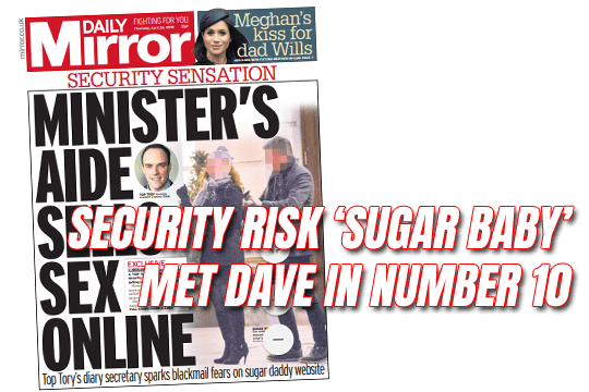 Security Risk Sugar Baby Met Dave in No 10