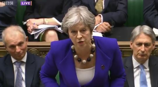 May: Labour Took Decision on Windrush Landing Cards
