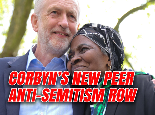Corbyn's New Peer Martha Osamor Defended Anti-Semites