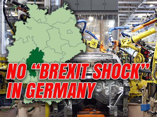German Companies Back Brexit Britain - Euro Guido