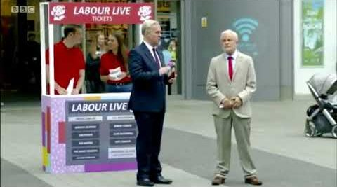 WATCH: Corbyn Labour Live Sketch