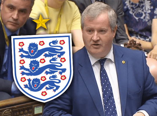 SNP Plot to Ruin England Match