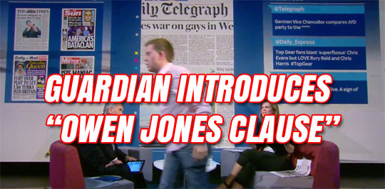 Illusion Vs Reality In Sky Over Owen >> Owen Jones Archives Guido Fawkes Guido Fawkes