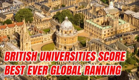 British Universities Score Best Ever Global Ranking