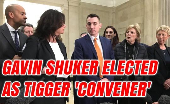 Gavin Shuker Elected as TIGger 'Convener'