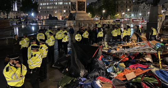 Extinction Rebellion Encampments Declared Illegal By