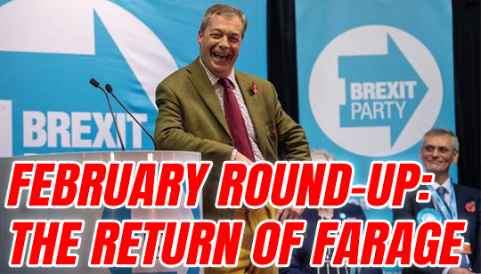 February: Brexit Party Gets Started