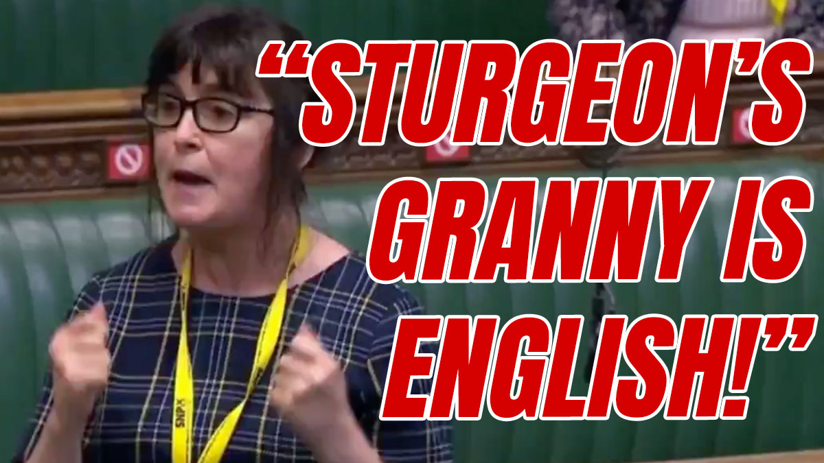 SNP MP Claims Sturgeon Can't be Anti-English Because her Granny is English