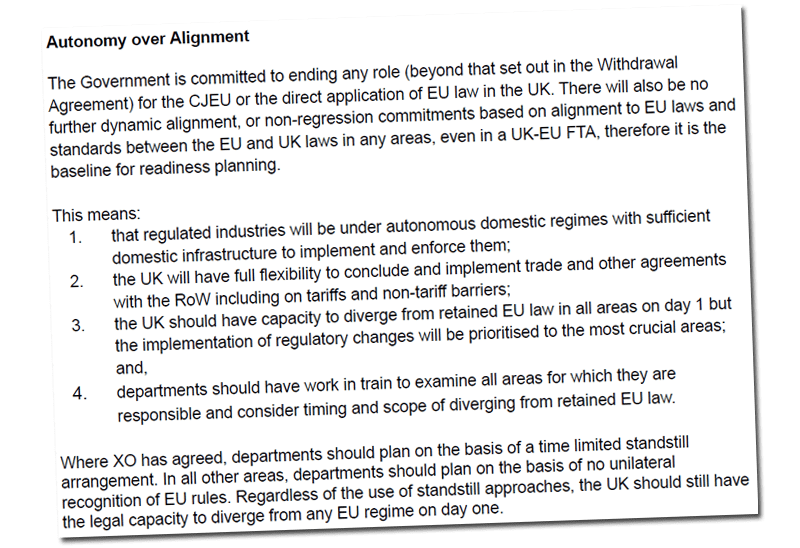 Reading the Details of the Government's Secret Plans, One Thing is Clear: We're Getting Full Brexit One Way or Another