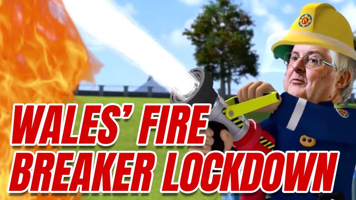 """Wales to Enter Two Week """"Fire Break"""" Lockdown"""