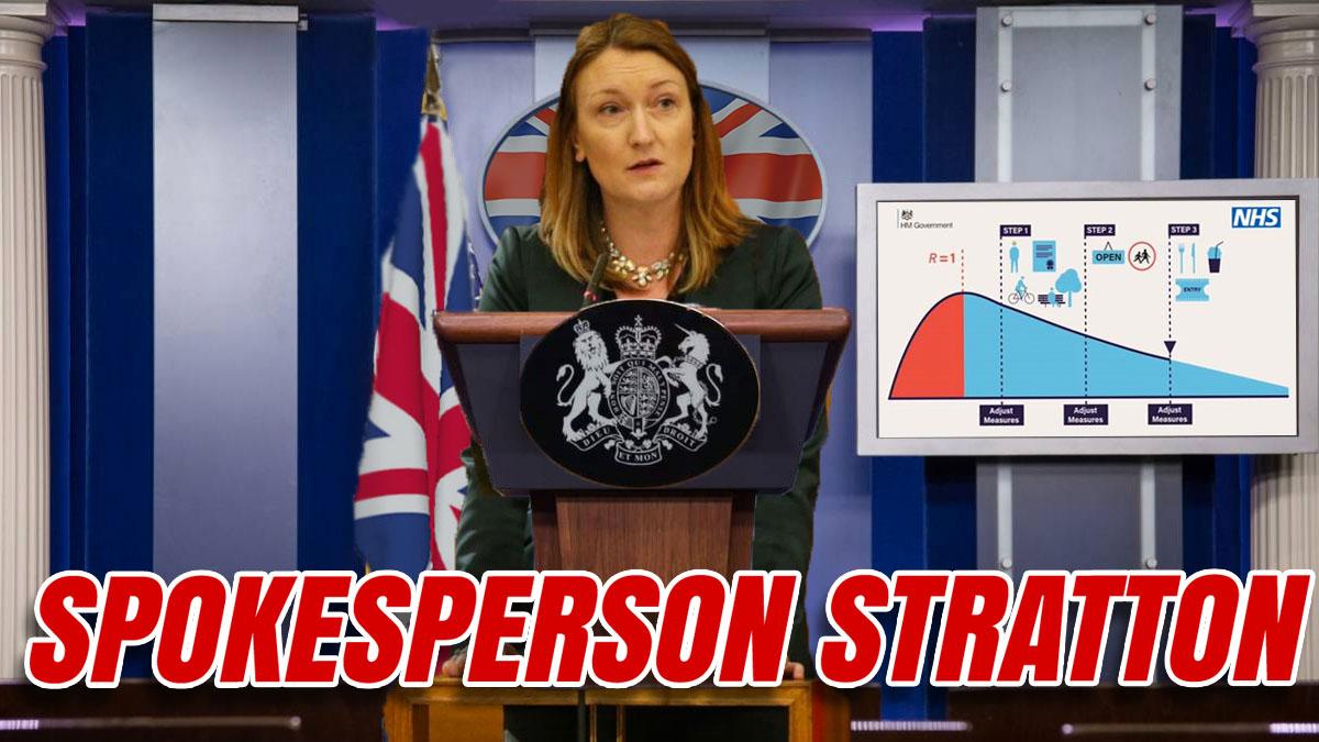Allegra Stratton Announced as Downing Street Press Secretary
