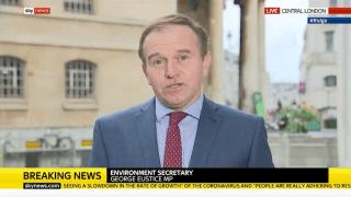 Eustice: Cummings's Departure Won't Affect EU Deal