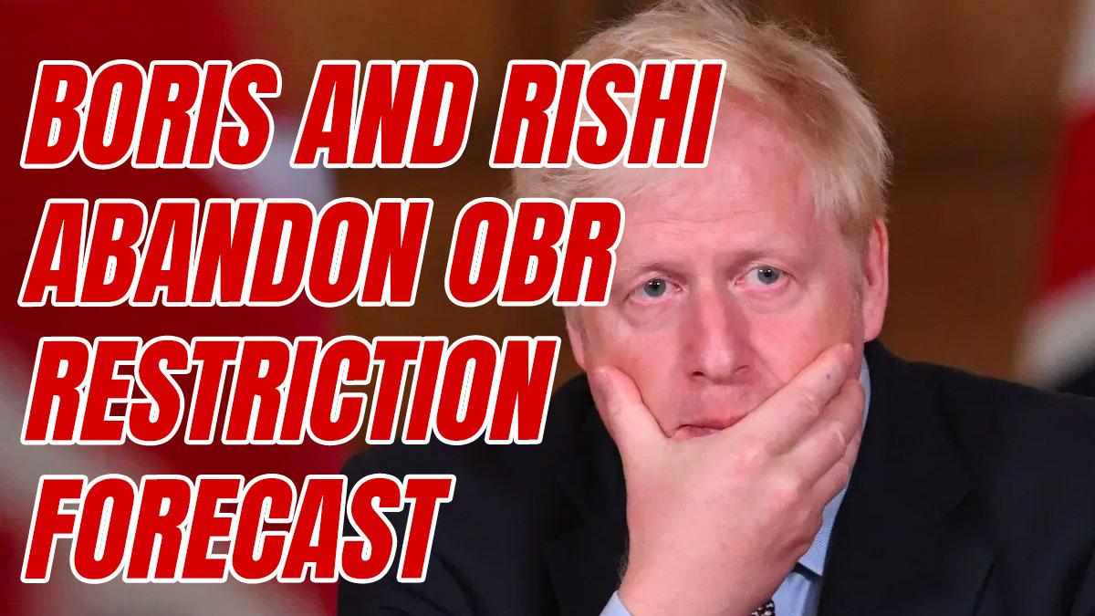 Boris Disavows Treasury's Expected OBR 'Central Scenario' for Virus
