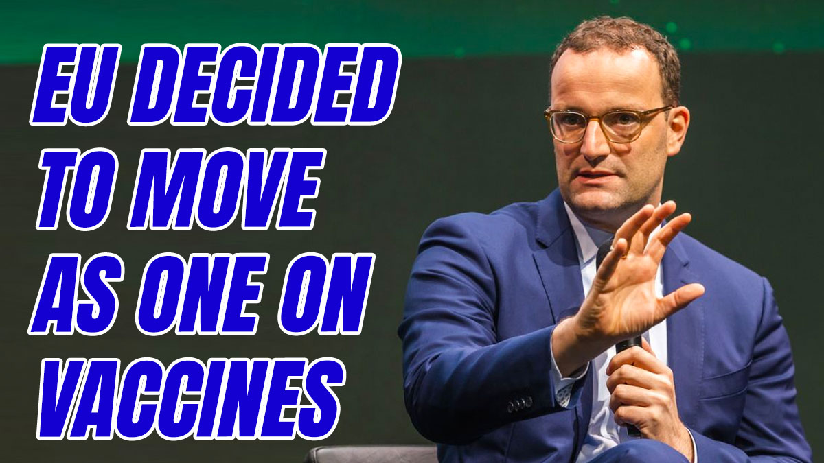 German Health Minister: Brexit Enabled Earlier British Vaccine Rollout