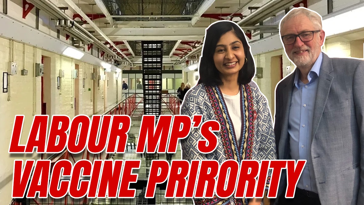 "Labour MP Calls for Jabs for ""Prison Users"""