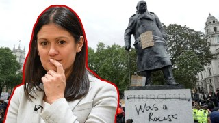 WATCH: Liability Lisa Refused to Say Whether Churchill was Hero or Villain