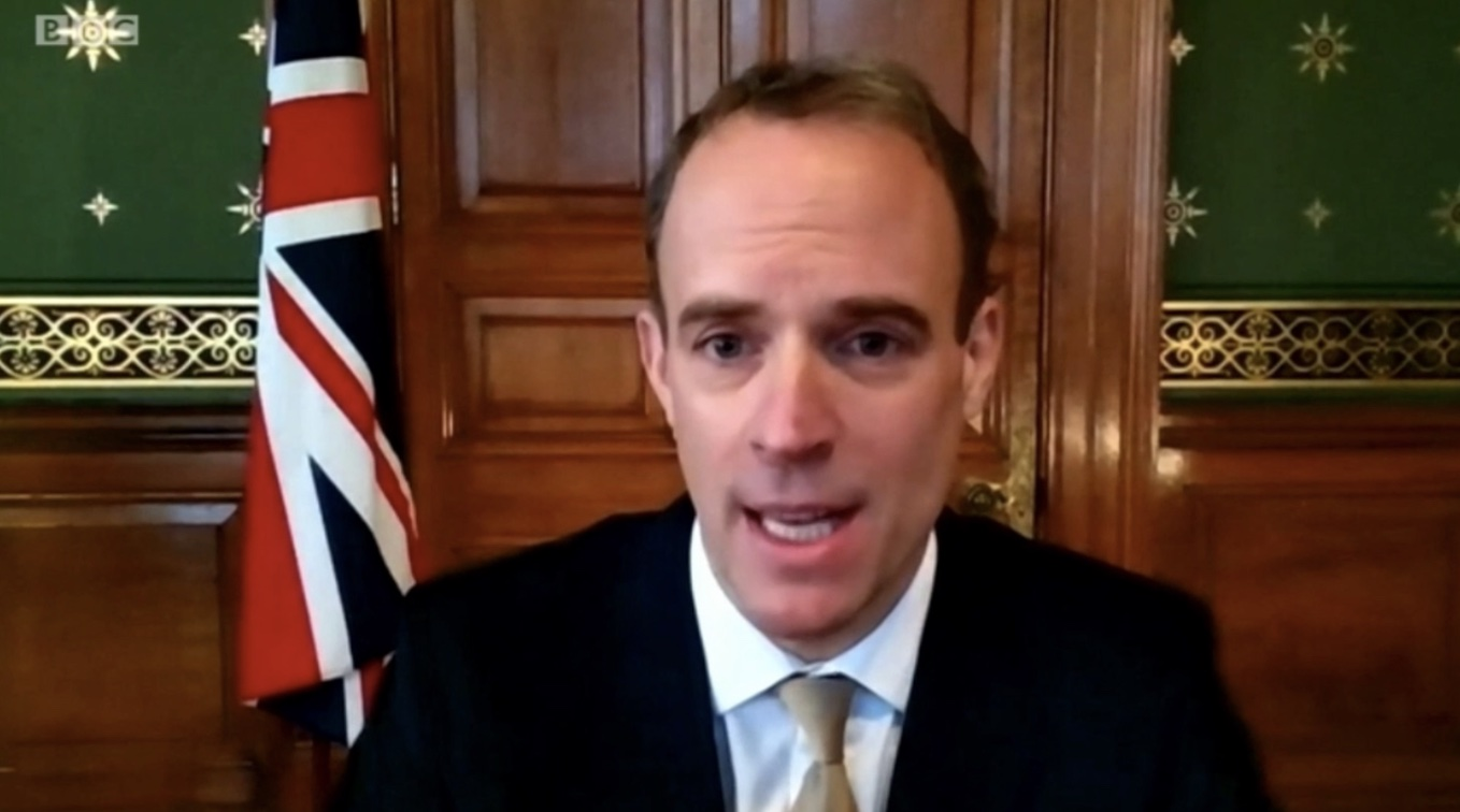 Raab: Restrictions Can Begin Lifting in Early Spring, Via Tiered Approach