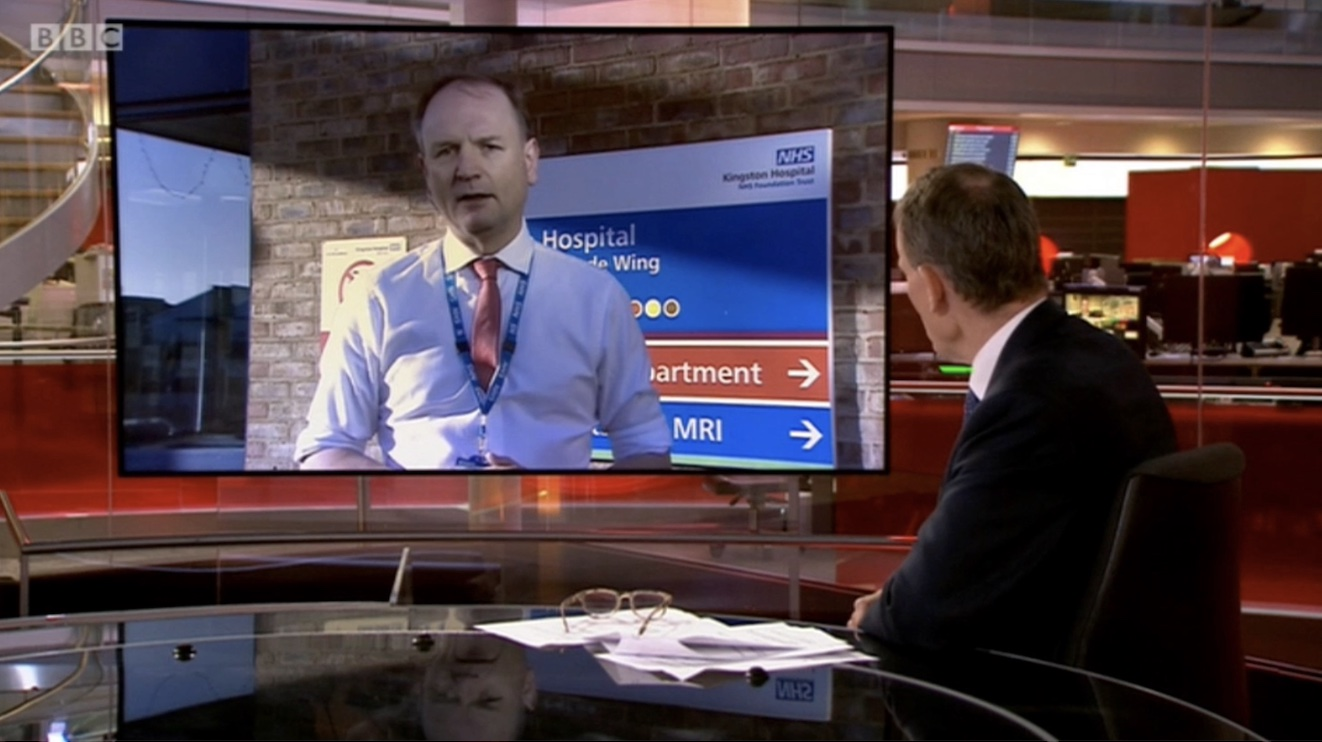 Simon Stevens Reveals 140 Jabs are Being Delivered Every Minute