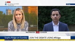 Scottish Labour's New Leader, Anas Sarwar: Sturgeon Should Resign if She Broke Ministerial Code