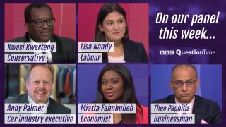 Who Is On Question Time Tonight?
