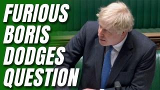 WATCH: Boris Dodges Flat Renovation Question