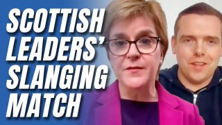 WATCH: Nicola Sturgeon and Douglas Ross Fight Over Vaccine Rollout