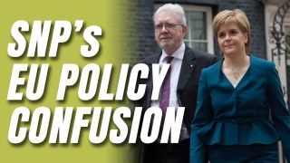 Sturgeon Clashes With SNP President Over Another EU Referendum