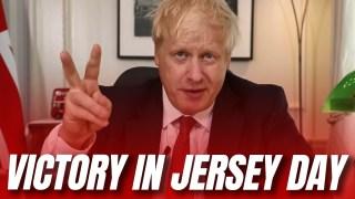 Boris Declares Victory in Jersey