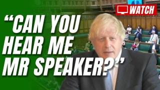 Boris's Tech Fails at PMQs