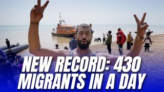 Record 430 Illegal Migrants Arrive in Single Day