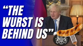 "WATCH: Boris Declares ""Wurst is Behind Us"" in UK-EU Sausage War"