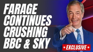 EXCLUSIVE: Farage Beat Sky and BBC's Views COMBINED Last Night