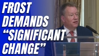 Lord Frost: Northern Ireland Protocol Must Change Now