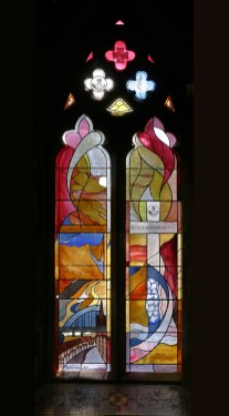 Wakenshaw Memorial Window. Cathedral Church of St Mary Newcastle Cate Watkinson (2)
