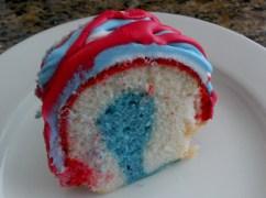 Memorial Day Bundt Cake