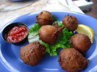 Conch fritters at Caroline's Café
