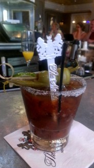 Bloody Mary at Carousel Bar & Lounge