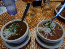 Seafood Gumbo, Red Beans and Rice at Joey K's