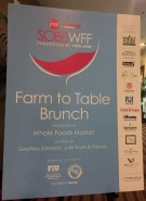SOBEWFF Farm to Table Brunch at the Palms Hotel