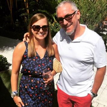 We unexpectedly ran into Miami's own Chef Michael Schwartz