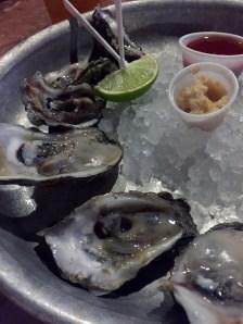 Oysters on the half shell at Half Shell Raw Bar - 231 Margaret Street, Key West - halfshellrawbar.com