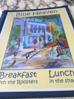 Breakfast with the Roosters at Blue Heaven - 729 Thomas Street, Key West - blueheaven.com